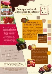 Tract publicitaire chocolatier